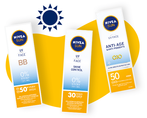 NIVEA SUN FACE CARE