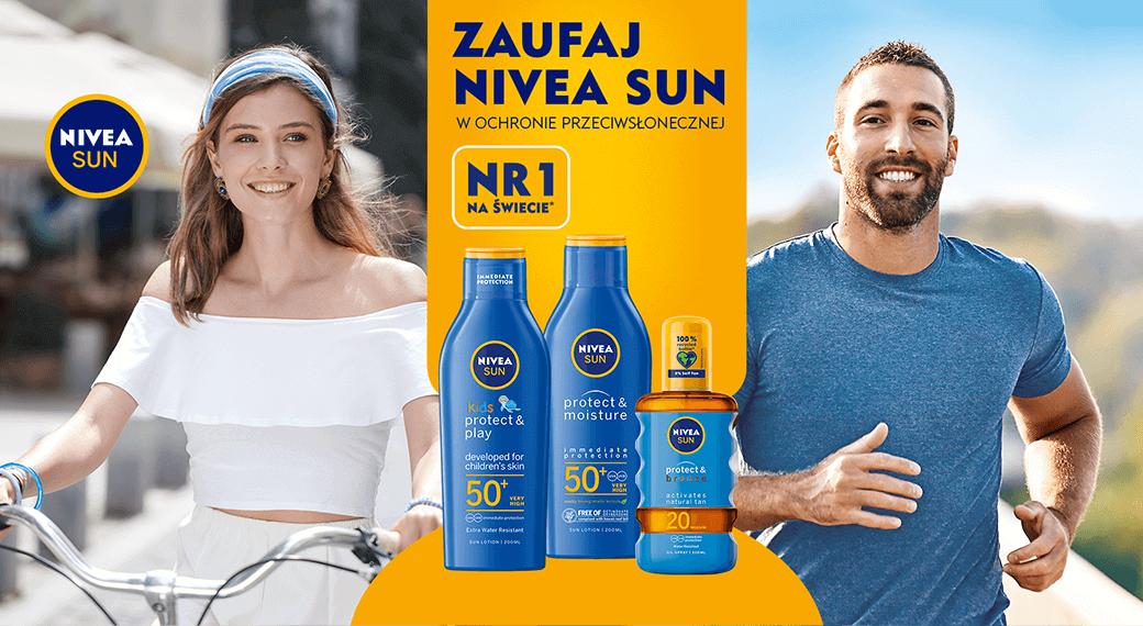 Zaufaj NIVEA SUN w ochronie przeciwsłonecznej